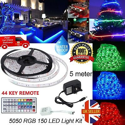 5m smd 5050 rgb led light strip multi color changing tv back mood 5m smd 5050 rgb led light strip multi color changing tv back mood lighting led aloadofball Image collections