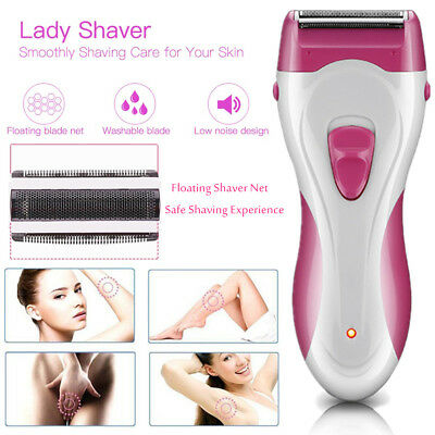 Electric Hair Remover Cordless Wet Dry Lady Shaver Women Trimmer Bikini Arm Legs