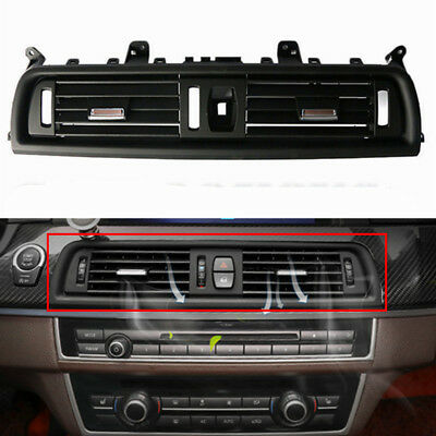 For BMW F10 F18 520 523 525 528 530 535 Front Air Grille Center Dash AC Vent