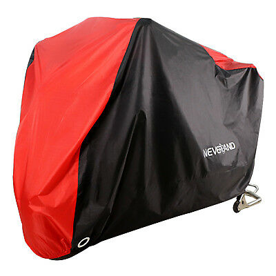 XXL Size Waterproof Motorcycle Cover For Harley Dyna Super Wide Glide Low Rider