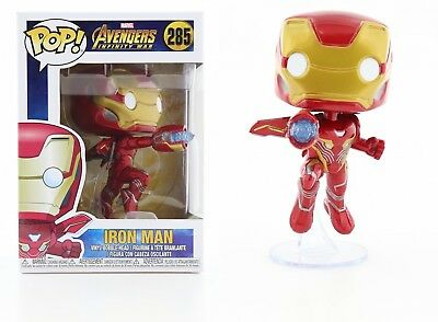 Funko Pop Marvel Avengers Infinity War: Iron Man Bobble-Head Item #26463