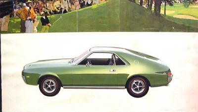 1969 American Motors AMX Styling Artwork Photo ua2712-UERGMB