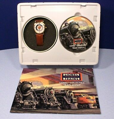 Lionel Animated Collector's Train Watch w/ Sounds - Needs New Battery