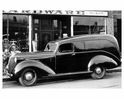 1938 Hudson Terraplane Panel Delivery Factory Photo ua8442-9ZTBYT
