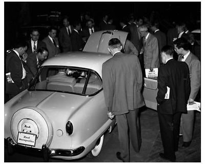 1954 Nash Metropolitan National Announcement Factory Photo ua8465-7SERC4