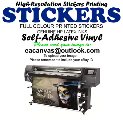 Your Custom Sticker Printing personalised Vinyl stickers print A4 A3 A2 A1 A0