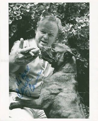 Carroll O'connor - Inscribed Photograph Signed