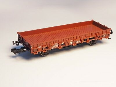Marklin Scale gauge I Flat car w/ Stakes 1:32 DB Sprung buffers and metal wheels