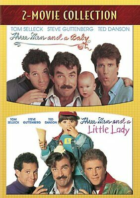THREE MEN AND A BABY + AND A LITTLE LADY New 2 DVD
