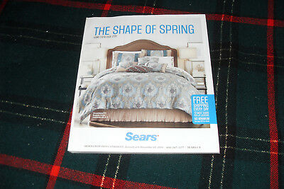 SEARS Home Catalogue 2016 The Shape of Spring  in very good condition