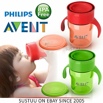 Philips Avent Baby Grown Up Cup│Lip Activated Technology│BPA Free Material│260ml