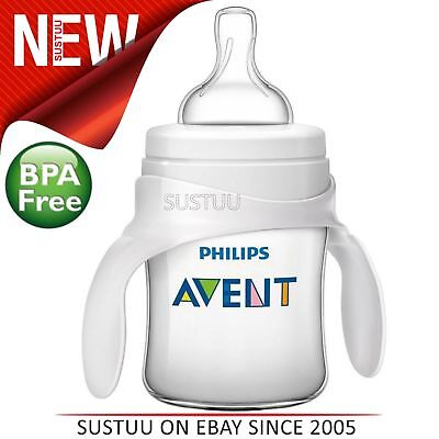 Philips Avent Classic+ Baby Bottle to Cup Trainer Kit│Drink Learner│BPA Free│4+
