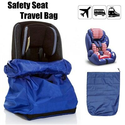 Baby Toddler Car Seat Travel Bag Folding Auto Storage Cover Backpack
