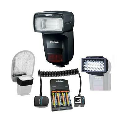 Canon Speedlite 470EX-AI Hot-Shoe Flash with AI Bounce Function And Acc Bundle