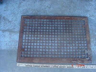 VINTAGE ANTIQUE HEAT GRATE FURNACE AIR WALL FLOOR COVER REGISTER VENT 18x24""
