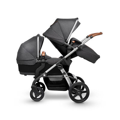 Silver Cross Granite Wave Pram Pushchair Single/Double Tandem New Factory Second