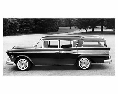 1959 AMC Rambler Rebel Custom Station Wagon Factory Photo ub1912-7113MS