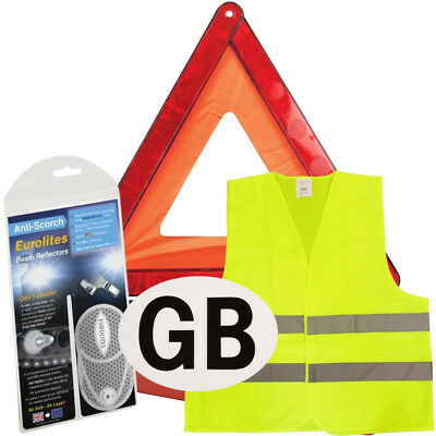 New Euro European Travel Kit Legal & Recommended Items For Driving In Italy