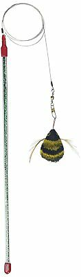 DA BEE Go Cat interactive Wand Toy - from maker of cat catcher mouse and da bird