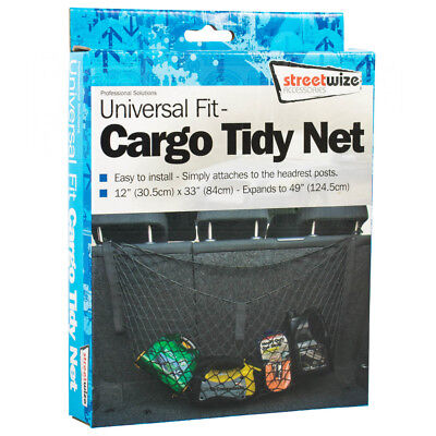 Universal Fit Cargo Tidy Net Hanging Boot Trunk Storage Organizer Luggage
