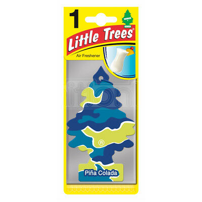 Little Trees Air Freshener Pina Colada Car Van Hanging Scent Odour Fragrance