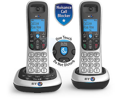 BT 2700 Cordless DECT Twin Phone with Nuisance Call Blocker and Answering Machin