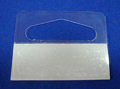 "100 Slotted Hang Tab with Adhesive Slot Style (1-3/16"") Merchandise Price Tags *"