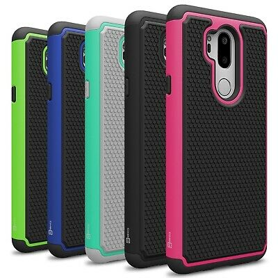 CoverON for LG G7 ThinQ Case HexaGuard Hard Shockproof Slim Phone Cover