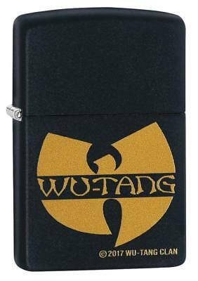 "Zippo ""Wu-Tang Clan"" Black Matte Finish Lighter, Full Size, 29711"