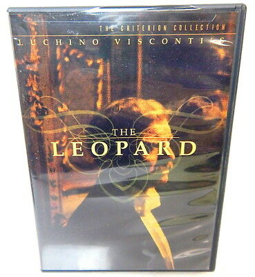 2F DVD THE LEOPARD Luchino Visconti The Criterion Collection Special Edition