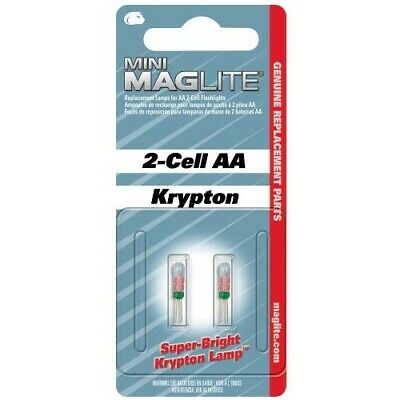 Maglite LM2A001K remplacement lampe au xénon pour mini Maglite 2-Cell AA//AAA