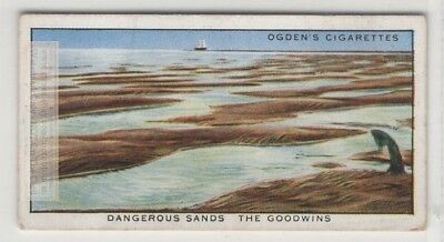 Goodwin Sands Deal Coast Kent England 80+ Y/O Trade Ad Card