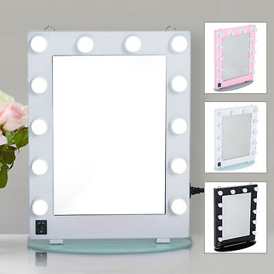 "26"" Hollywood Makeup Vanity Mirror with Led Light Dimmer Cosmetic Beauty Stage"