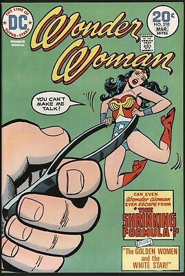 Wonder Woman #210  Beautiful Vf/nm 9.0 Glossy Cents Copy With White Pages