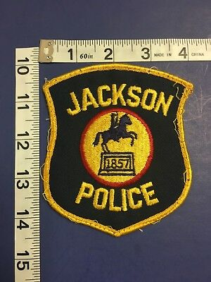 Jackson Michigan  Police Department Shoulder Patch