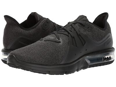 reputable site e3f5f d9d0b Nike Air Max Sequent 3 Black Anthracite 921694010 Men s Running Shoes