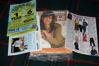 Canadian 1999  SEARS Fall and Winter Catalog   Free shipping in Canada