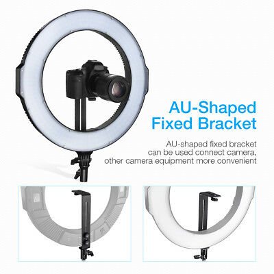 Photo Studio LED Ring Light Lighting 3200K-5600K CRI 96+ Dimmable Bi-color SMD