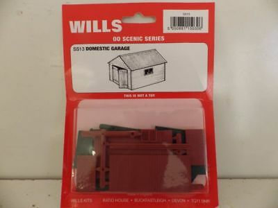 Wills Oo Scenic Series Ss13 Domestic Garage Wss13