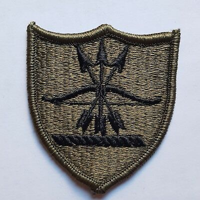 U.s. Army North Dakota National Guard Aufnäher Patch Oliv Subdued Tarn Neu
