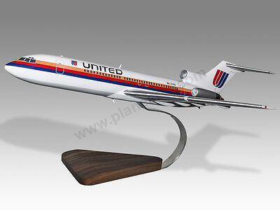 Boeing 777-200er Delta Airlines Kiln Dried Mahogany Wood Handmade Airplane Model Matching In Colour Transportation Collectables
