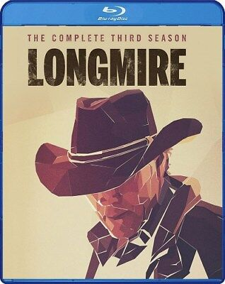 LONGMIRE COMPLETE THIRD SEASON 3 New Blu-ray MOD Warner Archive Collection