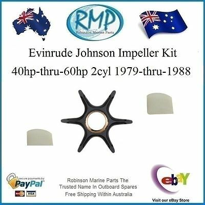 A Brand New Evinrude Johnson Water Pump Impeller 40hp-thru-60hp 2cyl # R 396809