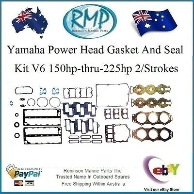 A Brand New Power Head Gasket Kit Suits Yamaha 150hp-thru-225hp # R 6K7-W0001-04