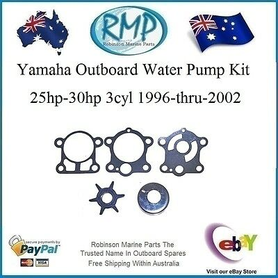 A New RMP Water Pump Kit Suits Yamaha 25hp-30hp 1996-thru-2002 # R 6J8-W0078