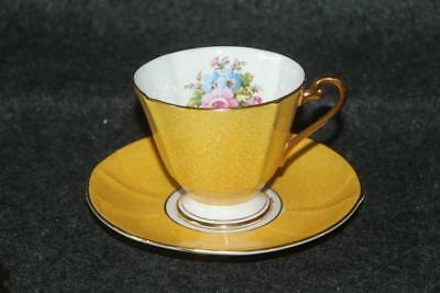 Vintage Roslyn England China Cup And Saucer