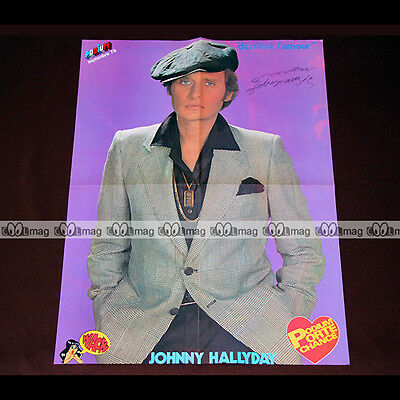 JOHNNY HALLYDAY (1976) - Poster #PM987