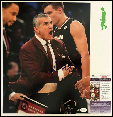 Frank Martin Autographed Signed 11X14 Photo Picture Basketball Jsa Coa