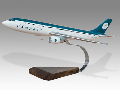 Collectables Airbus A319 Iberia Solid Kiln Dried Mahogany Wood Handmade Desktop Model Airlines
