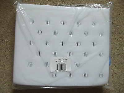 "Brand New Ventilated Baby Pram Pillow Square, Fits Silver Cross, 12"" x 14"""